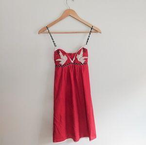 52f8e14661cb Voom By Joy Han Vintage Style Dove Dress